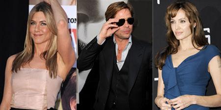 Jennifer Anniston, Brad Pitt, Angelina Jolie