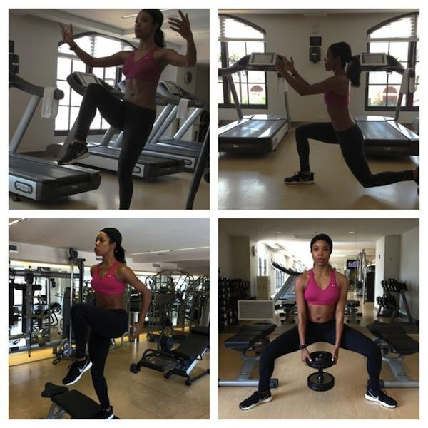 11 Celebrities Who Flaunt Their Fitness On Instagram Gabrielle Union