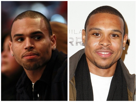 Chris Brown and Shannon Brown