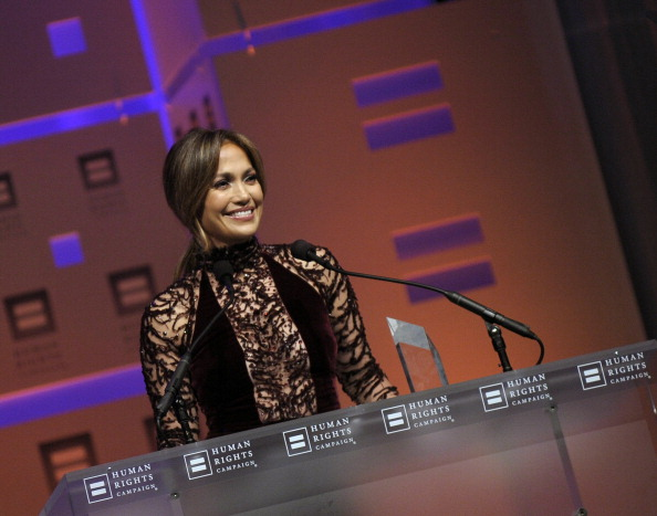 Jennifer Lopez 2013 HRC National Dinner