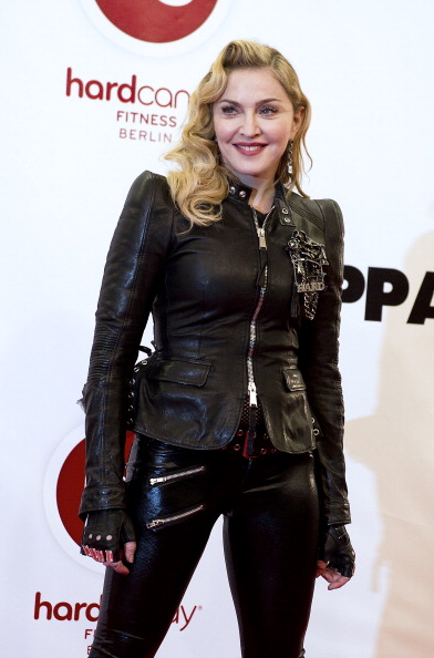 Madonna Opens Hard Candy Fitness In Berlin