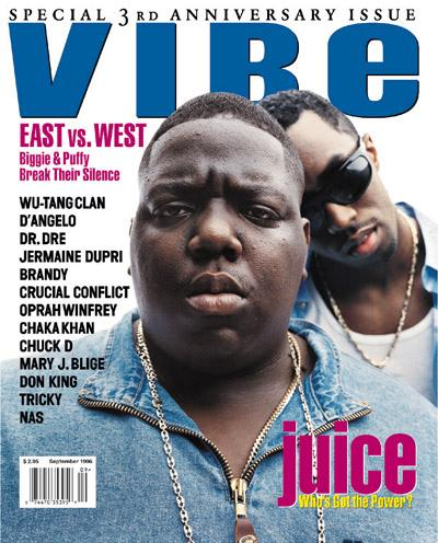 Diddy and Biggie VIBE Cover
