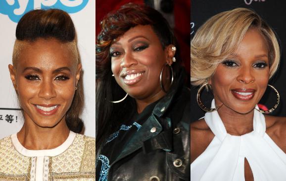 Jada Pinkett Smith, Missy Elliott, and Mary J. Blige