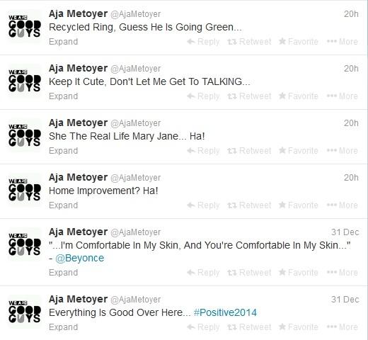 Aja Metoyer Tweets Dwayne Wade and Gabrielle Union