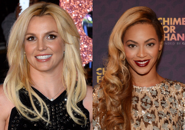 Britney Spears and Beyonce