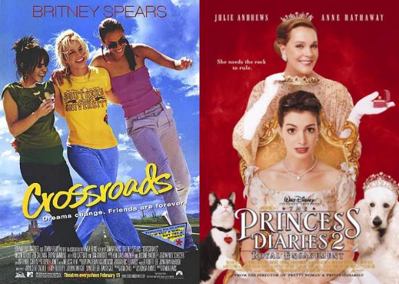 Crossroads and Princess Diaries