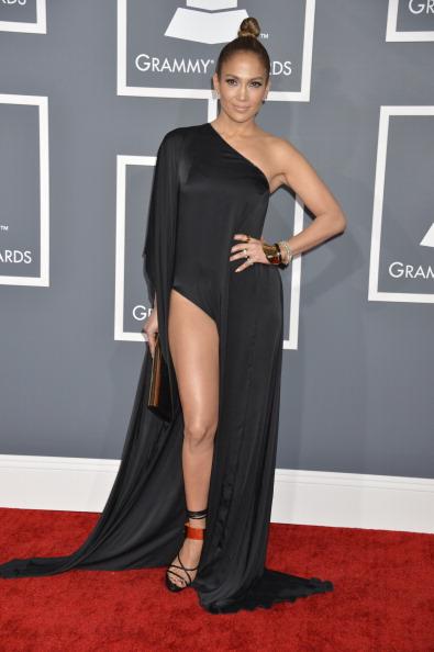 Jennifer Lopez The 55th Annual Grammy Awards