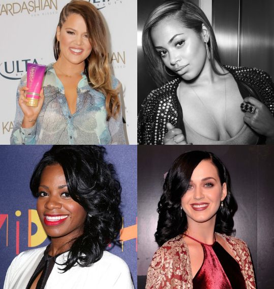 Katy Perry, Khloe Kardashian, Fantasia, and Lauren London