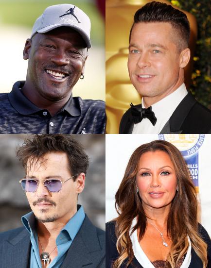 VIBE-Vixen-Michael Jordan, Brad Pitt, Johnny Deep, and Vanessa Williams