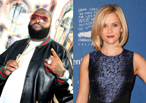 Rick Ross and Reese Witherspoon