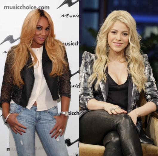 Shakira and Tamar Braxton