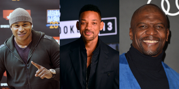 Will Smith, LL Cool J, and Terry Crews