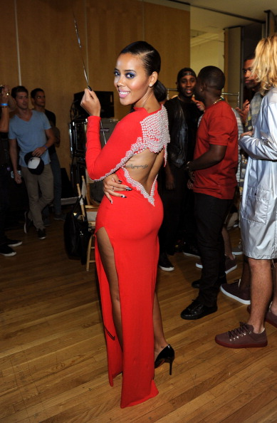 Shop.AngelaIam.com By Angela Simmons - Backstage - Style360 Spring 2014