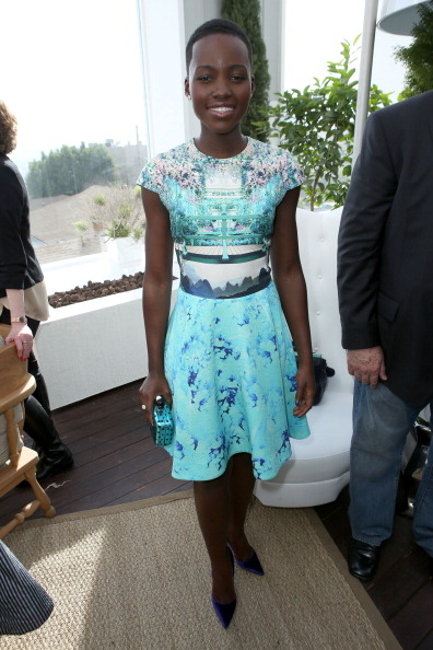 DuJour magazine celebrates their Great Performances issue with cover model Lupita Nyong'o at the Mondrian, LA