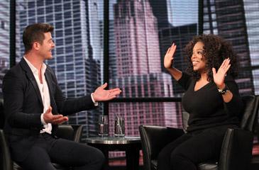 Robin and Oprah
