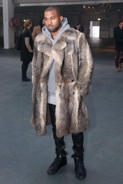 Givenchy : Front Row - Paris Fashion Week - Menswear F/W 2014-2015