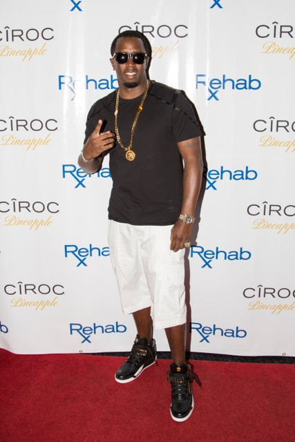 Diddy at Ciroc Launch