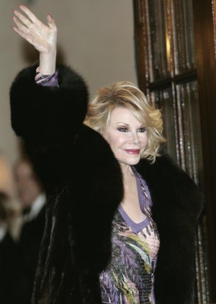 Joan Rivers at Ritz Party