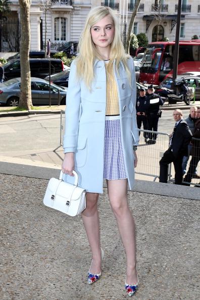 Celebrity Sighting At Paris Fashion Week - March 5 - Womenswear Fall/Winter 2014-2015