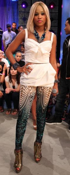 "Jennifer Lopez, Swizz Beatz & Eve Visit BET's ""106 & Park"" - May 3, 2011"