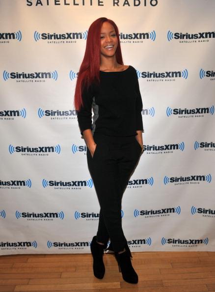 Rihanna, Dionne Warwick, Gail Simmons And Mumford & Sons Visit Sirius XM Studio
