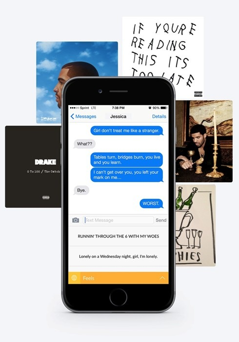 drake-app-text-messages