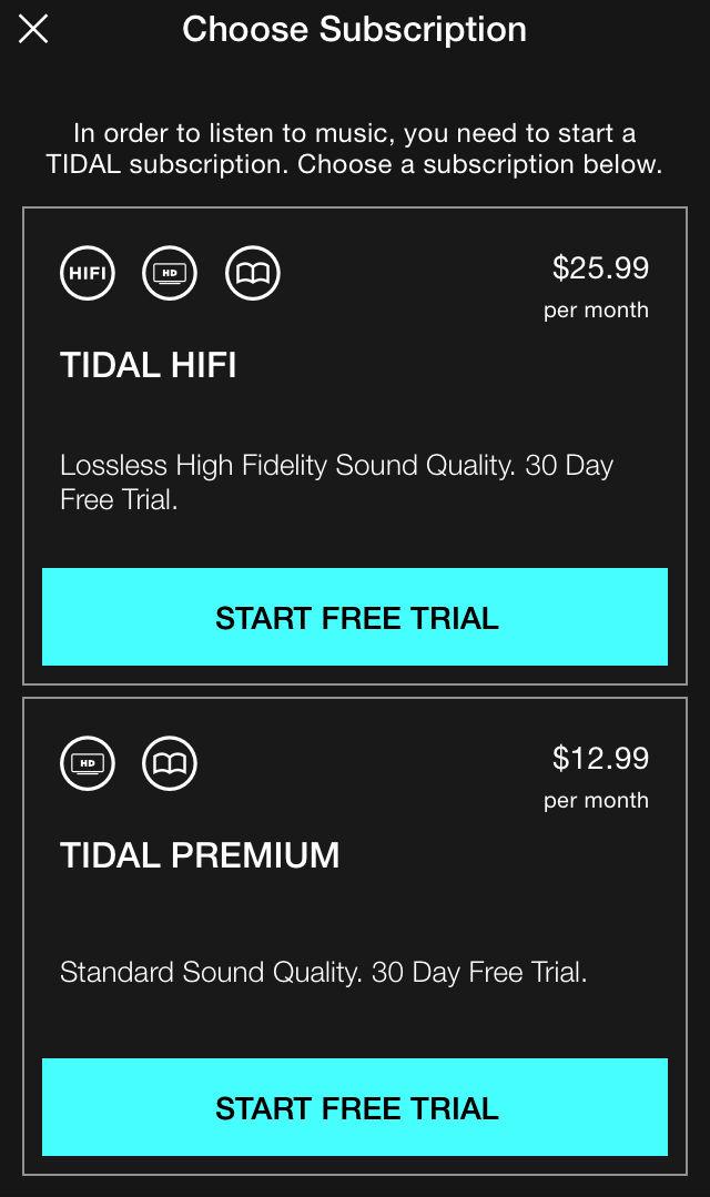 Tidal price