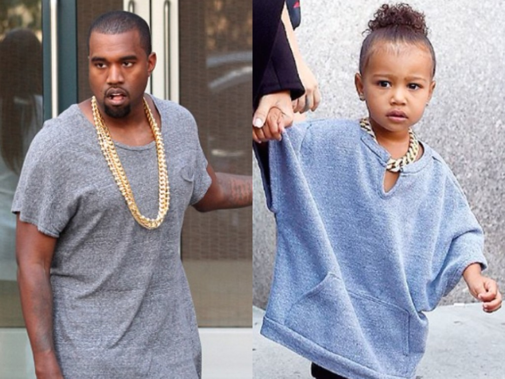 Kanye North Twin Outfits