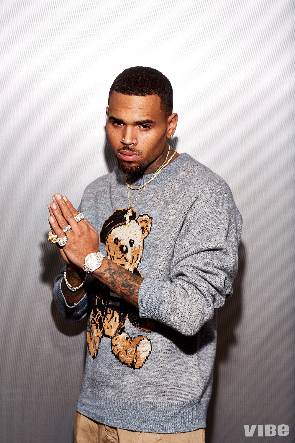 Chris Brown VIBE Cover Story 5