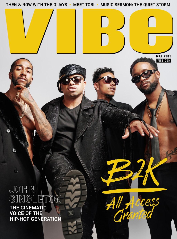 B2K VIBE Magazine Cover