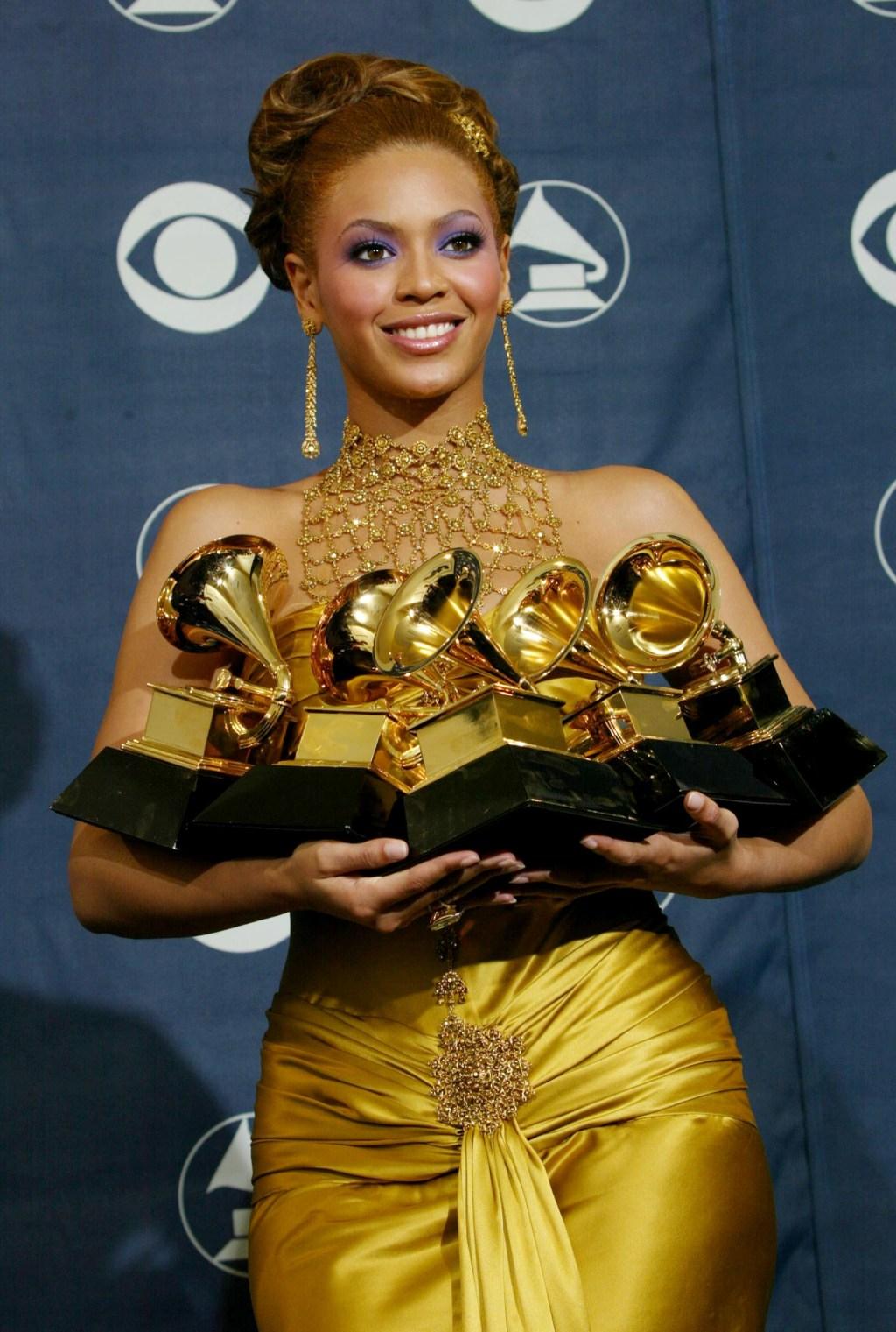46th Annual Grammy Awards - Pressroom