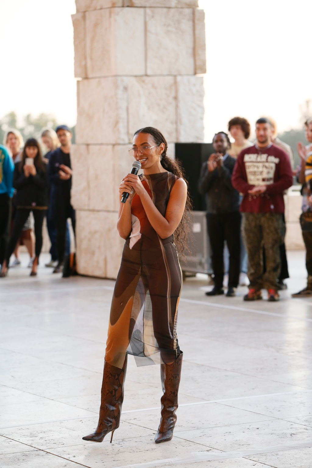 Solange Debuts New Site-specific Performance Piece At Getty Center, Los Angeles