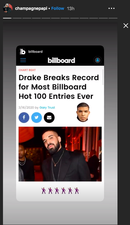 Drake-Hot-100-Breaks-Record