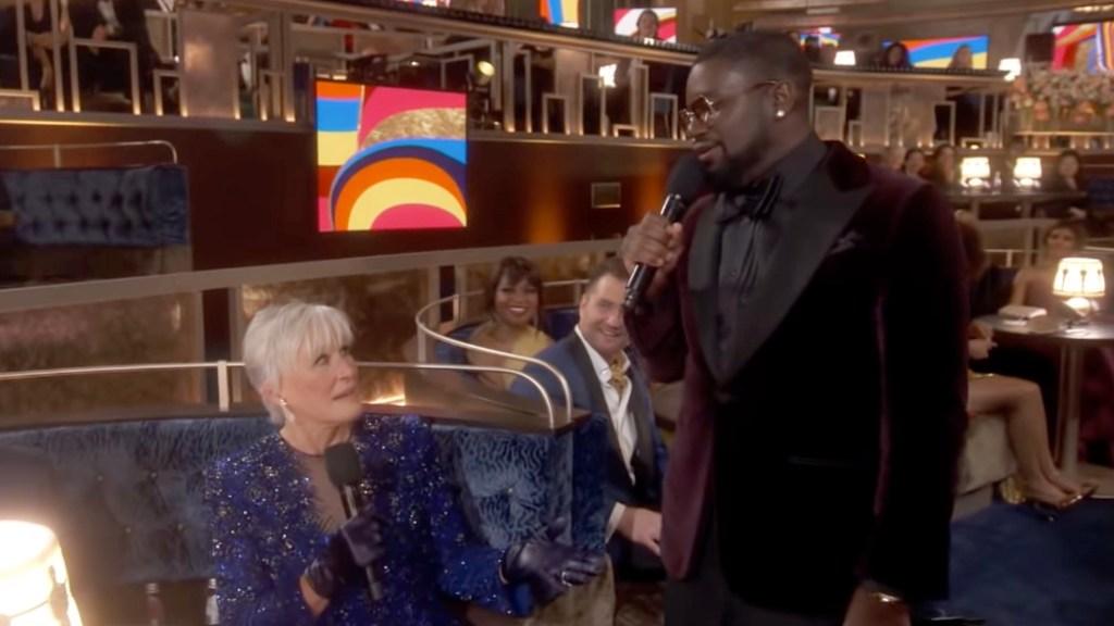 "Glenn Close Really Did ""Da Butt"" Dance During Questlove's Oscar Trivia Game"