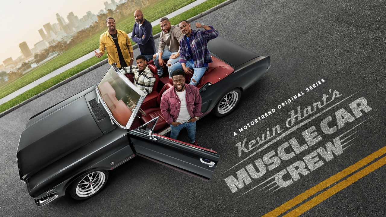 Promotional Image For Kevin Hart's Muscle Car Crew Series