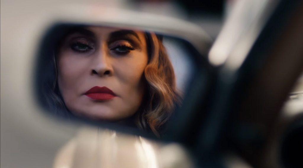 Closeup shot of Tina Knowles-Lawson