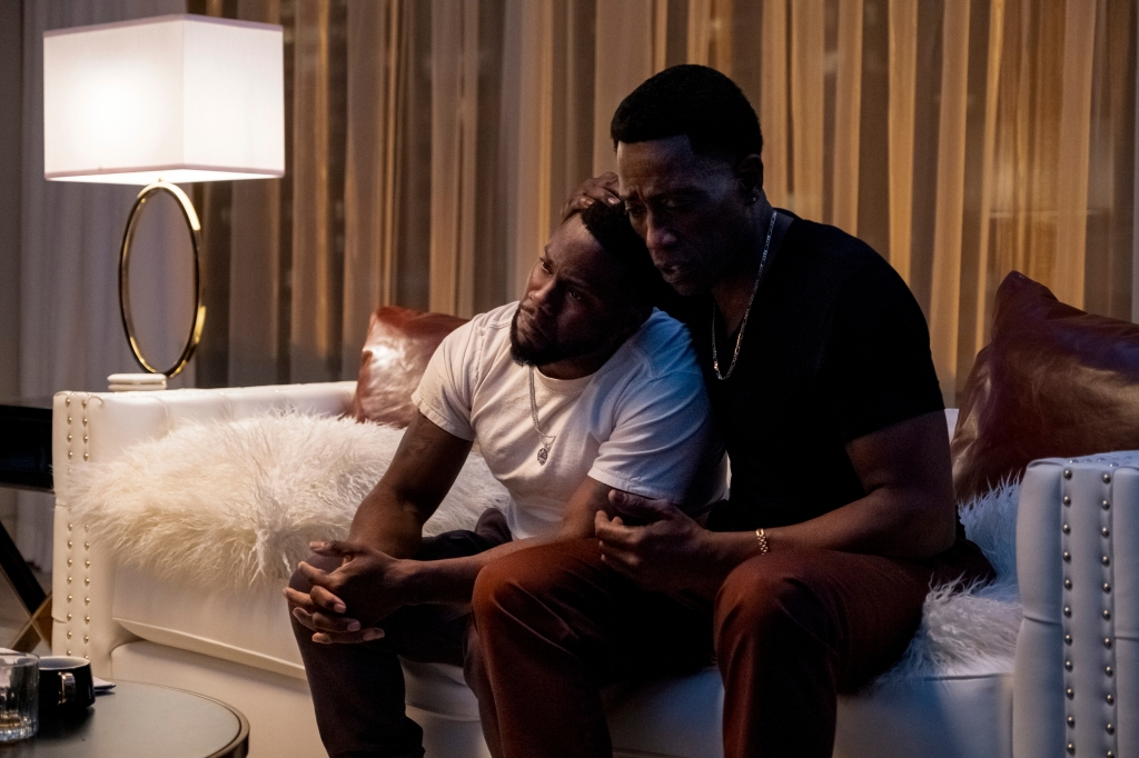 Wesley Snipes And Kevin Hart In Netflix's True Story