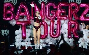 Miley Cyrus at Z100 Jingle Ball