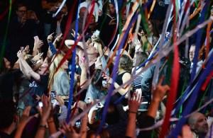 Macklemore at Z100 Jingle Ball